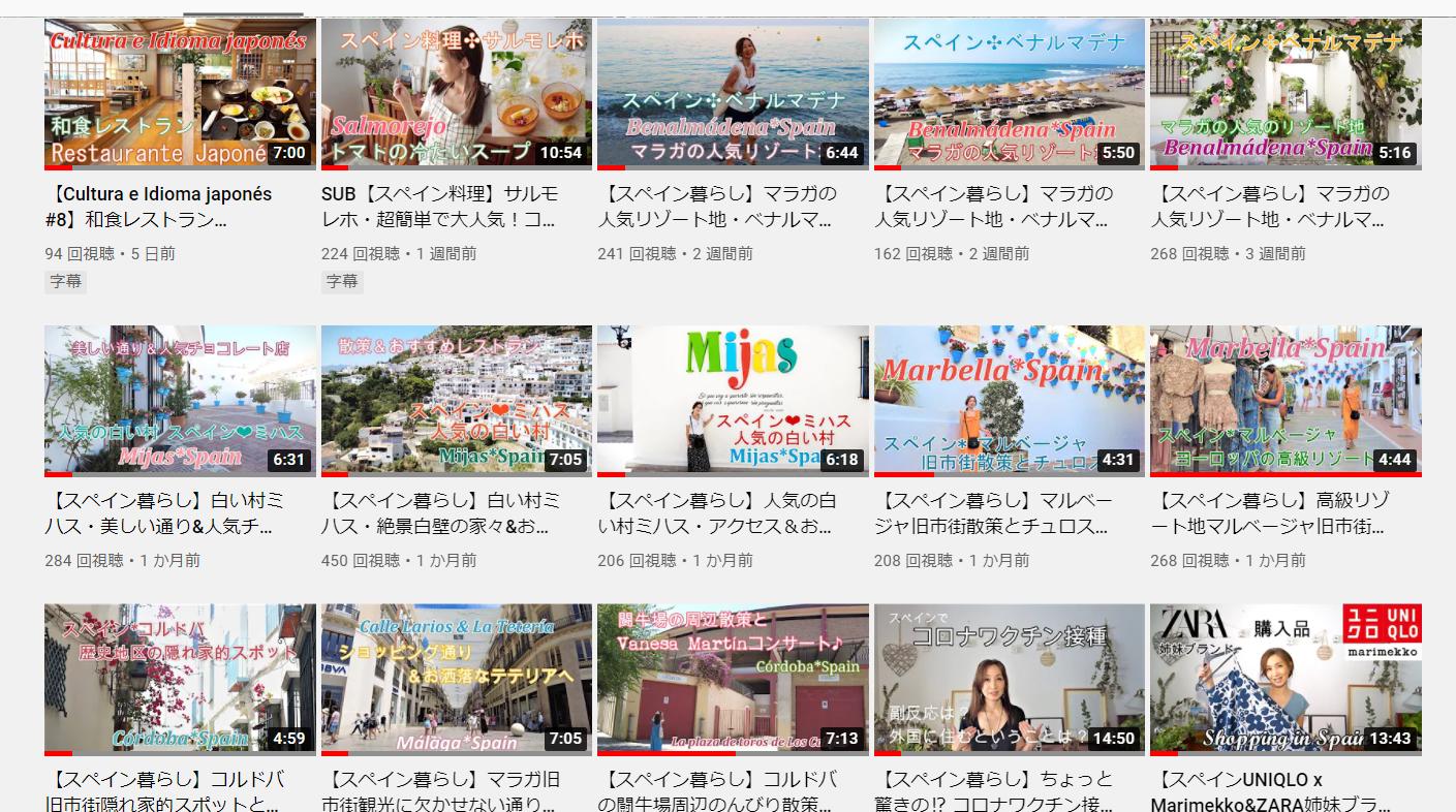 ビデオ(YouTube)